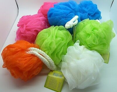 Caress Body Puffs Bath Shower Job lot of 8 Mixed Random Colours