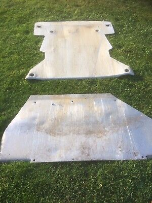 Mg Zr Rally Car Sump And Fuel tank Guards