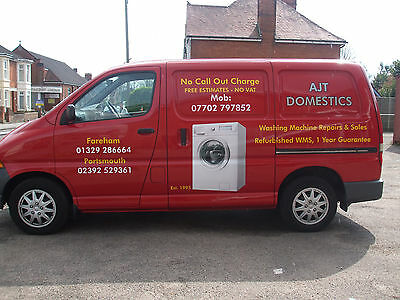 washing machine repairs,no call out charge,free estimates,also refurbished wms