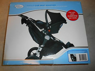 Baby Jogger Single Car Seat Adaptor for CHICCO Car Seats 51308 NEW in Box