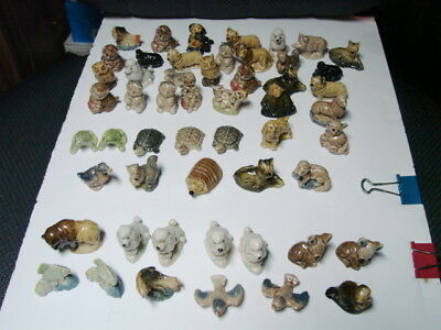 Wade England Red Rose Tea Figurines Mixed lot 50 Pieces plus
