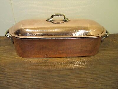 Quality Copper Tin Lined Vintage Salmon Poacher