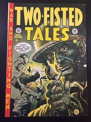 EC Comics TWO-FISTED TALES (1952) #30 Iconic WAR Cover KEY Golden Age SHIPS FREE