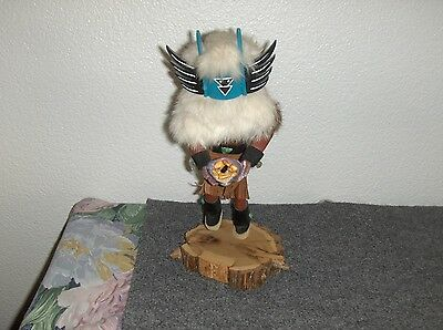 "Vintage 1970 Kachina Doll  ""crow Mother"" Artist Signed - Nice Condition"