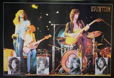 Led-Zeppelin music Poster. Size 24x35 Inch Rare