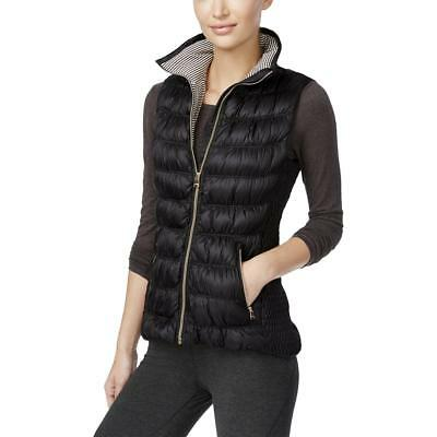 Calvin Klein Performance 6628 Womens Black Puffer Space-Dye Casual Vest XL BHFO