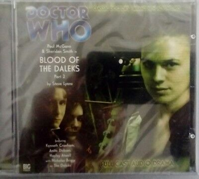 Dr Who Blood of the daleks part2 new  audio cd