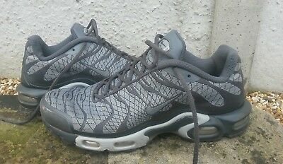 NIKE Air TN Plus trainers, UK 10, genuine item, good condition