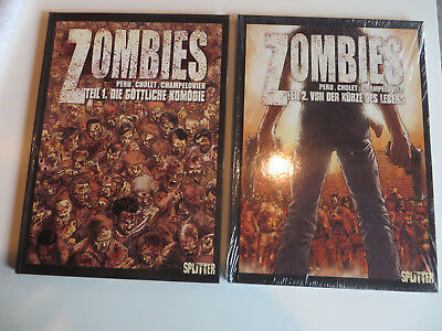 Zombies // Comic / Graphic Novel / Hard Cover / z.T. Neu und OVP, in Folie