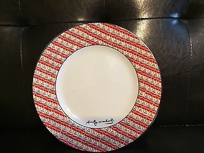 Andy Warhol Campbell's Soup 100 CANS Dessert Plate By Block