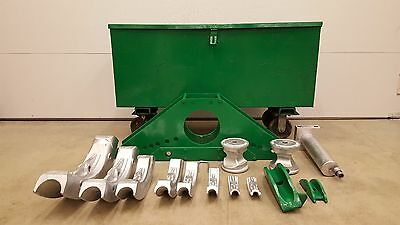 "GREENLEE 883 PIPE BENDER 1/2"" TO 3 inch IPS  GOOD SHAPE"