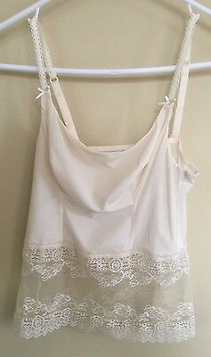 NEW w/out tags Princess Tam.Tam French Lace Cami size Small - Never Worn!