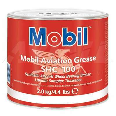 Mobil Aviation Grease SHC 100 4.4 lb can - New Stock