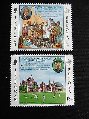 Isle Of Man Stamps Europa 1980 Mint