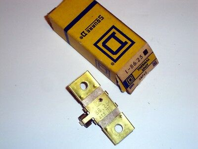 Square D Overload Heater B6.25 New Relay Thermal Unit B 6.25