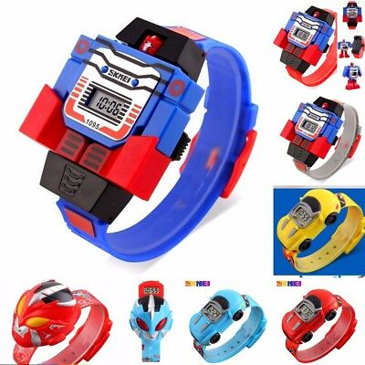 SKMEI Girl Boy 4-10 years Lightweight Plastic Digital Wrist watch Toy design NEW
