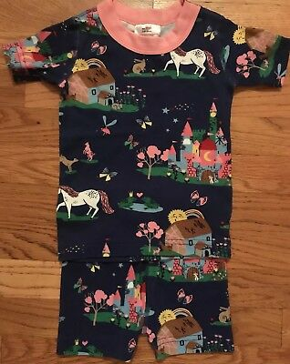 Hanna Andersson Girls Size 80 Castle Pajamas