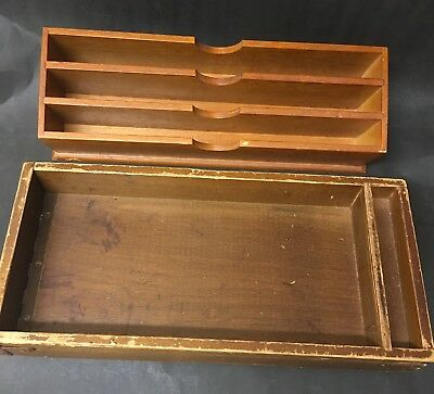 Timber Bank Voucher Holders And Coin Tray Vintage (4)