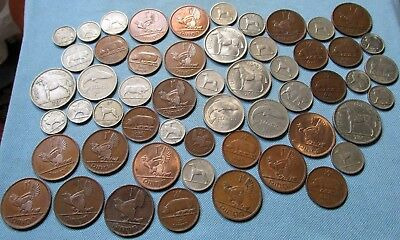Clearance Lot Vintage Republic of Ireland Old Coins c. 1928-1968 Base Metals