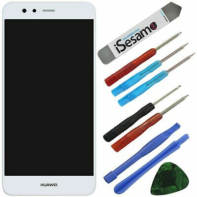 Huawei P10 Lite Komplettes LCD Display Touchscreen Weiss + Werkzeugset