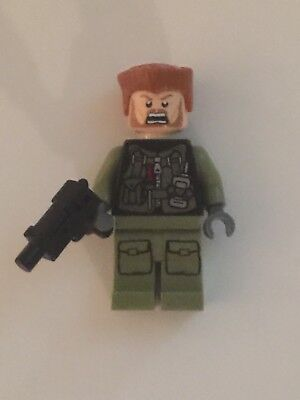 Lego: Walking Dead- Custom Abraham Minifigure w/ Reversible Head, 100% Lego!