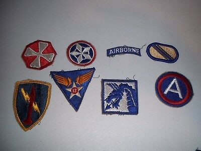 Wwi Wwii Korean War Vietnam Us Army Patch Lot #139