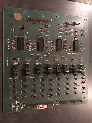 Bally Stern Pinball LAMP DRIVER PCB Board-used- 2518-23 TESTED-WORKING
