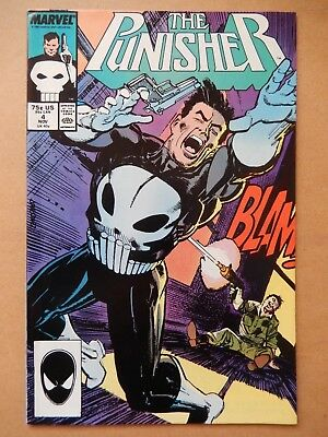 The Punisher #4 (vol. 2, 1987) 1st Microchip (Micro)
