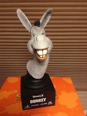 MASTER REPLICAS DONKEY BUST from SHREK 2 LIMITED EDITION #1979/2500