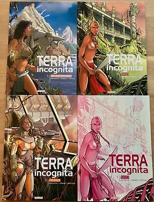 French Graphic Novels - Terra Incognita - Perrotin,Chami,Verney - Signed