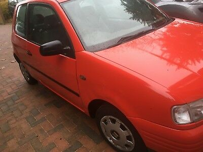 Seat Arosa 1.0Mpi 40830 Miles Only From New One Years Mot