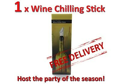 1 Wine chilling stick chill chiller NEW in Box Free FAST Postage FROM AUSTRALIA