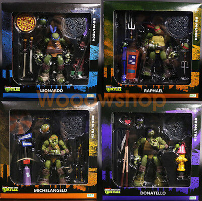 "Teenage Mutant Ninja Turtles TMNT 6"" Action Figure 1:12 Kaiyodo Revoltech New"
