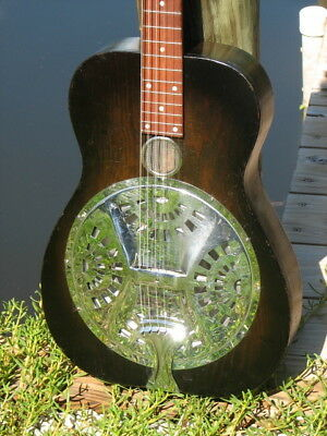 Dobro Model 60 Cyclops Resonator Guitar - Circa 1931