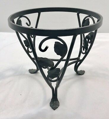 Longaberger Small Wrought Iron Plant Stand For Flora Basket