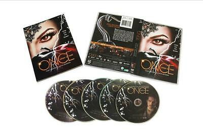 Once Upon a Time Season 6 (DVD, 2017,5-Discs) Free Shipping