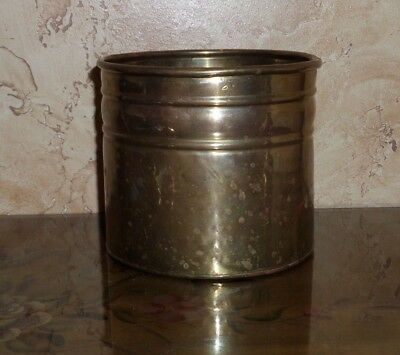 Solid Brass Vintage Antique Planter/Pot  Made In India