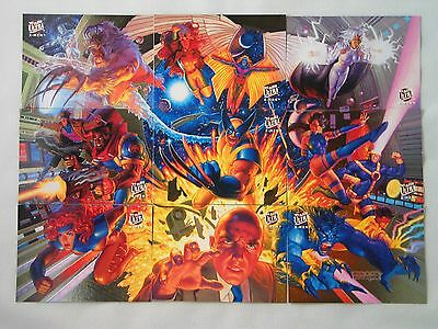 1994 Marvel Fleer Ultra X-Men Portrait Limited Edition 9 Card Chase Set