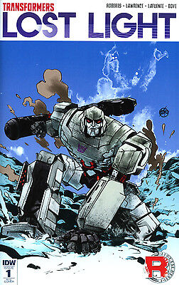 Transformers: Lost Light 1 Variant 1:50 Paul Pope Megatron Low Print Run