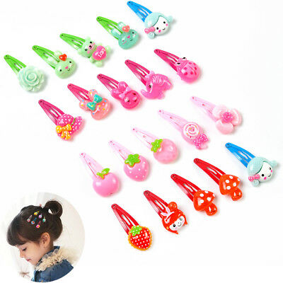 Princess 20pcs Cartoon Assorted Baby Kids Girls HairPin Hair Clips Accessories