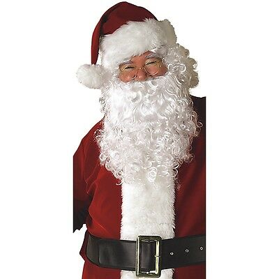 Santa Beard and Wig Set Adult Santa Claus Costume Christmas Fancy Dress