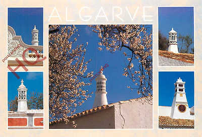 Picture Postcard, Algarve (Multiview) Decorated Chimneys