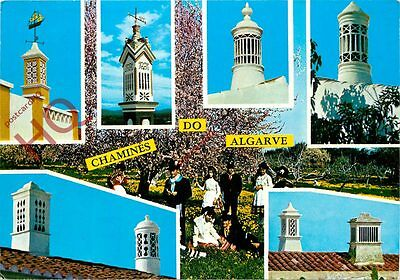 Picture Postcard:;Chamines Do Algarve, Chimneys (Multiview)