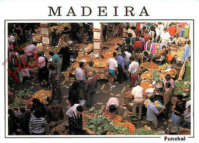 Picture Postcard; Madeira, Funchal, Market