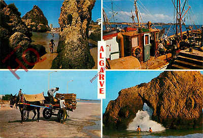 Picture Postcard~ Algarve (Multiview) Typical Views And The Rocks