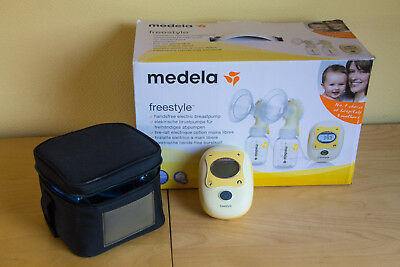 Medela Freestyle Double Electric Breast Pump complete in original packaging
