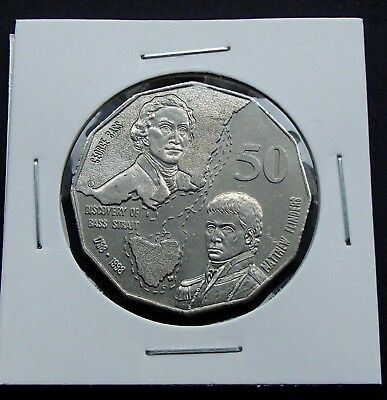 2017 Uncirculated 50 Fifty cent Eddie Mabo Pride and the Passion In Coin Flip