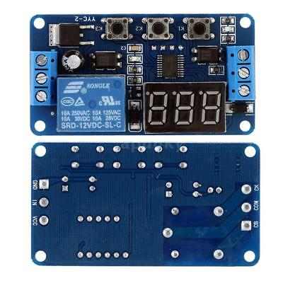 12V LED Display Automation digitales Delay Timer Control Switch Relaismodul G8I2