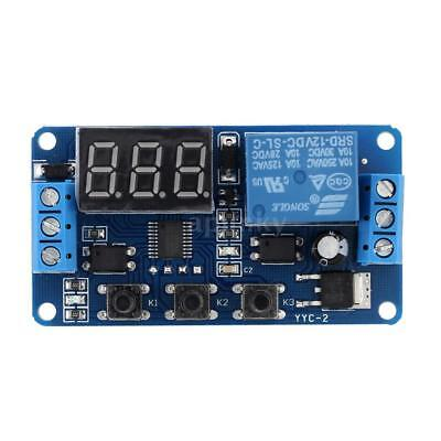 12V LED Automation Delay Timer Control Switch Relaismodul mit Etui L2Z0