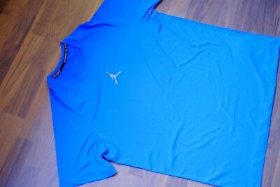 AIR JORDAN T-Shirt ENGINEERED FOR FLIGHT XXL Blau Herren Basketball E2
